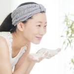 美白のために、顔を洗うときに気をつけたいこと